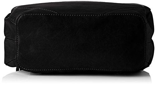 Tamaris Damen Melanie Backpack Rucksackhandtasche, 12x30.5x27 cm Schwarz (Black)