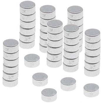 """25 Powerful 1//8/"""" x 1//16/"""" Disc Round Magnets Crafts Hobbies Warhammer Fridge"""