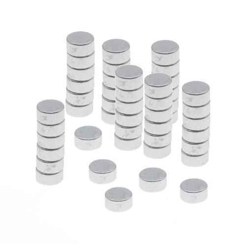 Generic Tiny Craft Hobby Neodymium Rare Earth Super Magnets 1/8 x 1/16 in. (3x1.5mm) (x50)