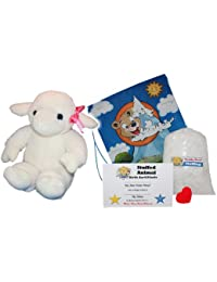 "Make Your Own Stuffed Animal ""Lambert The Lamb"" - No Sew - Kit With Cute Backpack!"
