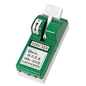 220V 32A seul coup Single Throw Couteau électrique interrupteur de déconnexion