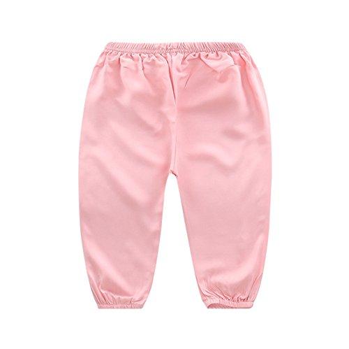Harem Kostüm Girl Rote - hellomiko Baby-Sommer-Hose-beiläufige Hosen weiche atmungsaktive Pyjamas Home Service Mosquito Hosen Hosen Hosen