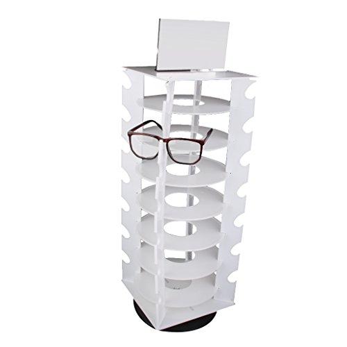 Brillenständer Brillendisplay Sonnenbrille Ständer 360 Grad drehbar