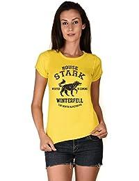 House Stark Yellow Girls T-shirt