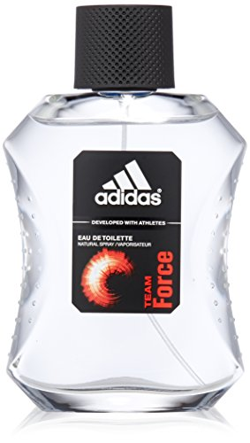 Adidas, Team Force, Eau de Toilette spray da uomo, 100 ml