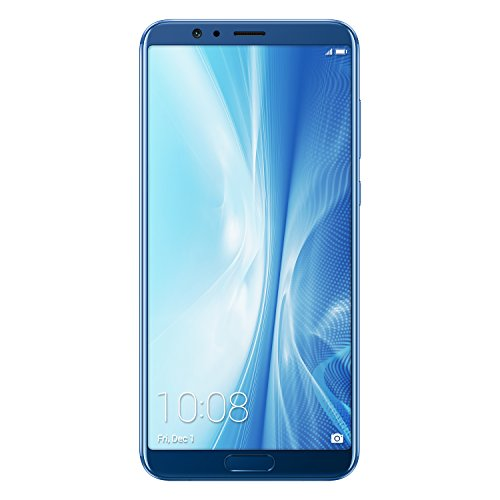 honor view 10 smartphone, blu, 4g lte, 128gb memoria, 6gb ram, display 5.99 fhd+, doppia fotocamera 20+16mp [italia]