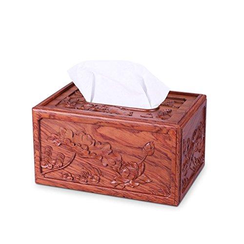 tyle Hölzerne Gesichts-Tissue / Serviette Holder Papier Tissue Aufbewahrungsbox Halter , A ()