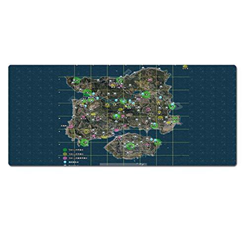 GUOFENG Gaming-Mauspad King Glory Oversized, Geistsmesmesser, Uhr Pioneer Hearthstone Legend Warcraft Dota Cyber Pad, Anime Office Tastatur-Pad, 800 x 300 x 3 mm, 16, 800 * 300 * 3mm
