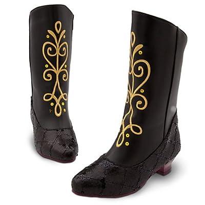Disney - Frozen: El Reino del Hielo - Zapatos de disfraz Princesa Anna botas para niña - tamaño UK 13 - 1 ,,, EU 32 - 33 ,,, USA 2 - 3 por Disney