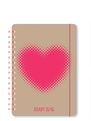 go-stationery-a6-mid-year-polyprop-diary-2015-16-heart-single-kraft