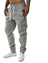 EGOMAXX Pantaloni da jogging da uomo Fit & Home Pantaloni sportivi da pantalone H1128