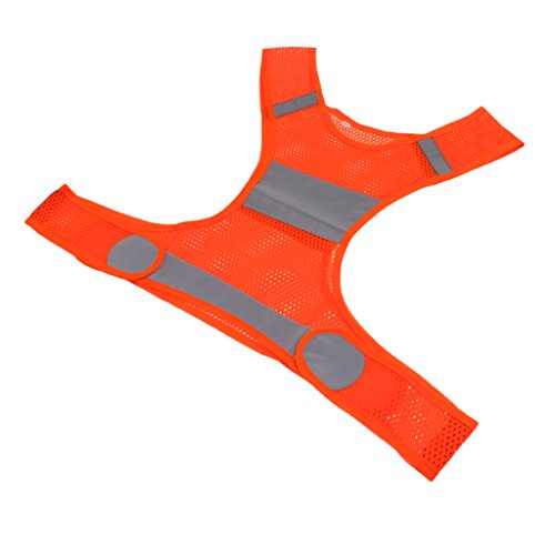 Blesiya-Gilet-Poliestere-Riflettente-per-Sport-to-Air-Abbigliamento-Ciclismo-di-Sicurezza-per-il-Lavoro-Notturno