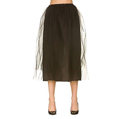 Zombie Skirt Black for Halloween fancy dress ()