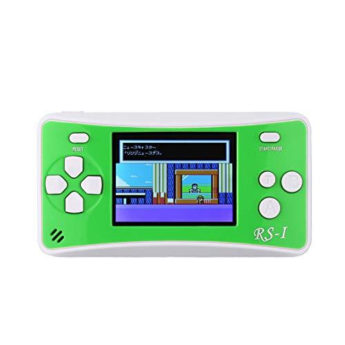 "Hermosairis Tragbare 2,5 ""LCD 8-Bit 152 in 1 Retro Arcade Classics Handheld-Spielekonsolen"
