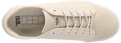 Hub Otsu nubuck L Perf, Sneaker femme Rose - Pink (soft rose/wht 067)