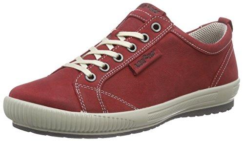 Legero Tanaro, Baskets Basses Femme Rouge (rubin 70)