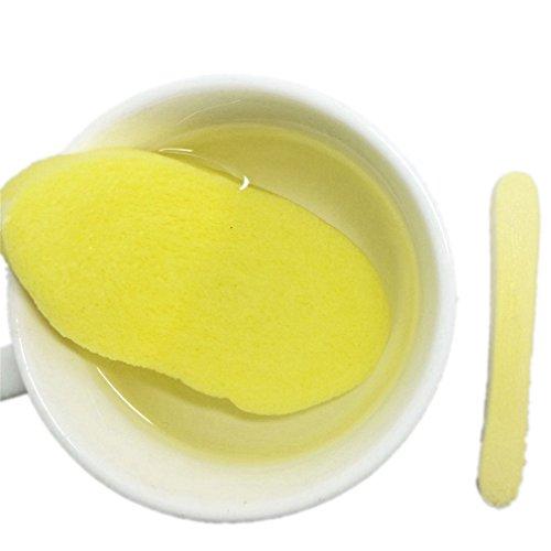 12x Naturelle éponge Pour le Lavage du Visage, Visage Nettoyage Maquillage Coton Démaquillant