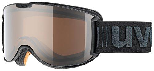 Uvex skyper pola Skibrille, black, One Size