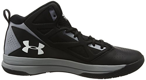 Under Armour Ua Jet Mid, Chaussures de Basketball Homme Noir (Black 001)