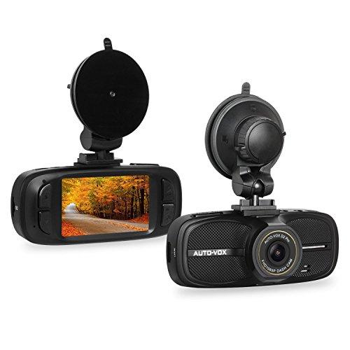 AUTO-VOX D2 Pro DashCam Autokamera FHD 1080P DVR Mini VideoKamera mit G-Sensor,WDR,Nachtsicht,Loop-Aufnhme,Parkmonitor