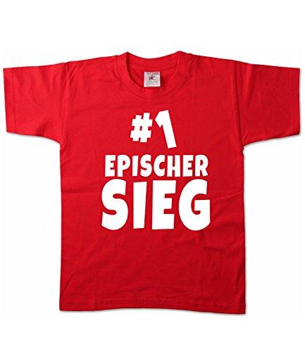 Artdiktat | Epischer Sieg | Kinder T-Shirt Hoodie -