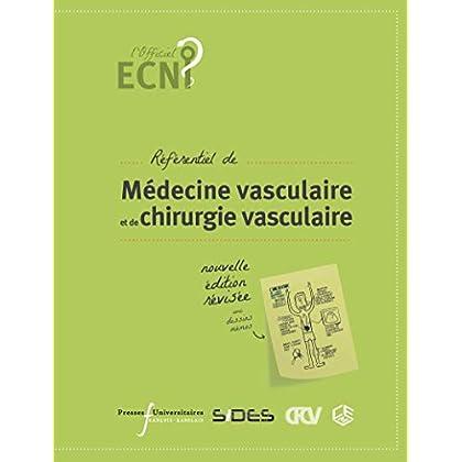 Référentiel de médecine vasculaire  et de chirurgie vasculaire