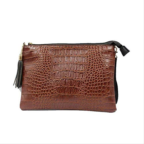 d2301204aa8cb LFNYZX New Crocodile Pattern Clutch Women Bag Retro Messenger Bags Female  Brand Shoulder Bag PU Leather