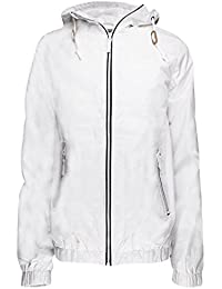 Soulstar coupe-vent pour homme Veste imperméable à capuche ultra légère pour Manteau imperméable