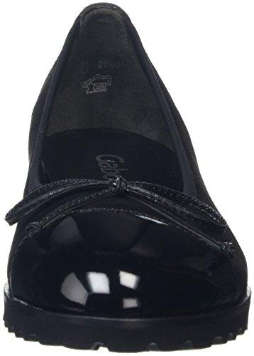Gabor Shoes Jollys, Ballerine Donna Nero (Schwarz 17)