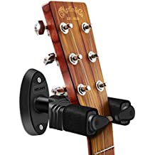 NEUMA Soporte de guitarra para montaje en pared, soporte de gancho de exhibición de bloqueo