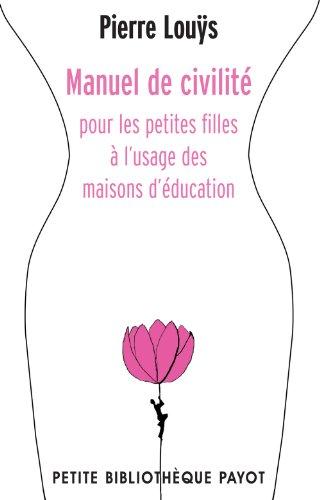 Manuel de civilité pour les petites filles...