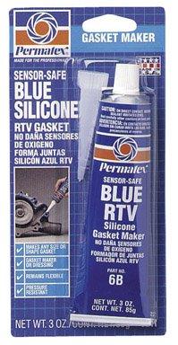 Permatex Eishockeytasche 3Oz sensor-safe blau RTV Silikon Dichtung Maker
