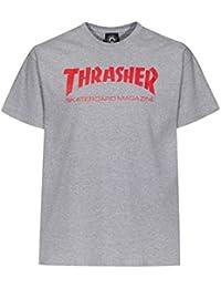 Thrasher - Camiseta - para hombre greymottled XXL