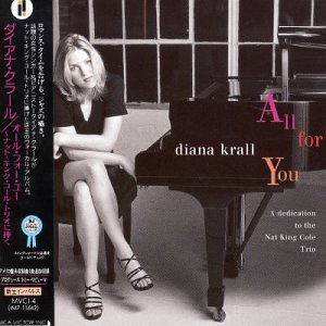All for You: Dedicated to the Nat King Cole Trio by Diana Krall (1996-03-23)