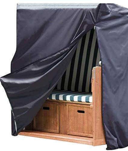 XXL Strandkorbhülle 2020 Oxford 420D 155 x 105 x 170/135 cm Strandkorb-Schutzhülle