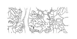 Folia 951002-Homedeco-24-Farol, 22x 51cm, 10Arco para Colorear