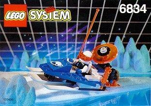 LEGO System Ice Planet 6834 Bob (Lego System Classic-sets)