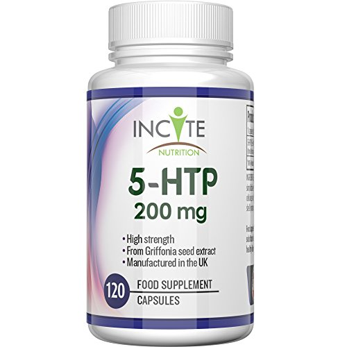 5-HTP 200mg High Strength 120 Capsules 4 Months