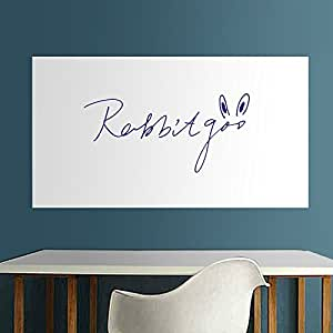 rabbitgoo grand tableau blanc adh sif ardoise effa able sticker autocollant mural x. Black Bedroom Furniture Sets. Home Design Ideas