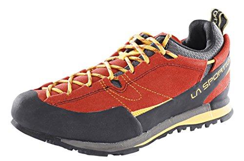 La Sportiva Herren Boulder X Trekking- & Wanderhalbschuhe, Rot 000, 43 EU - Sportiva Rot Schuhe