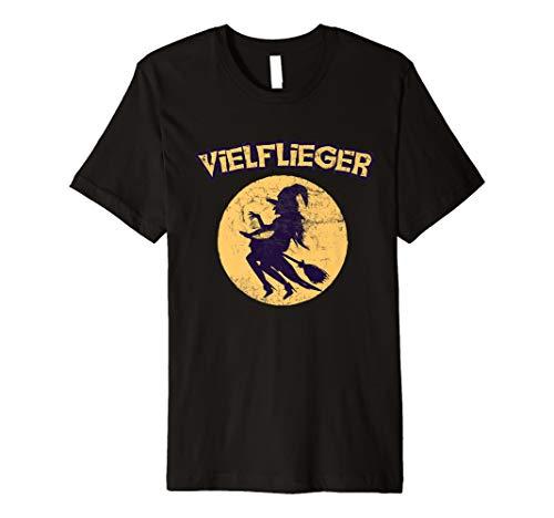 emd Frequent Flyer Hexe T Frauen T-Shirt ()