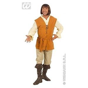 WIDMANN Peasant - Disfraz de medieval para hombre, talla XL