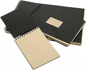 album kraft spiral 14 8x21 a5 60 feuilles 90 grammes brun c rhodia fournitures de. Black Bedroom Furniture Sets. Home Design Ideas