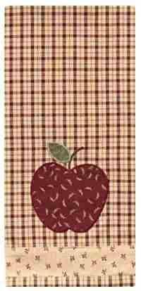 Dekorativen Platten Apple (Apple Jack dekorativen Platte Handtuch)