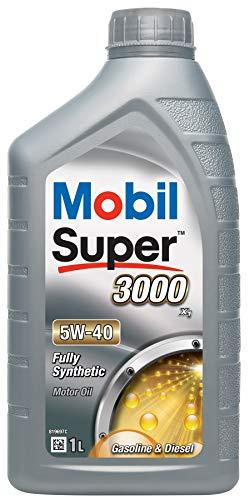 Mobil Super 3000X15W-40Synthetisches Motorenöl, 1Liter