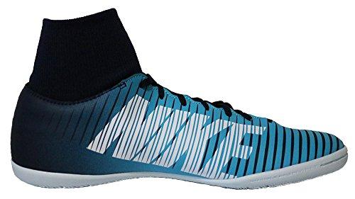 Nike Mercurialx Victory VI DF IC, Chaussures de Football Homme, Noir/Blanc Bleu