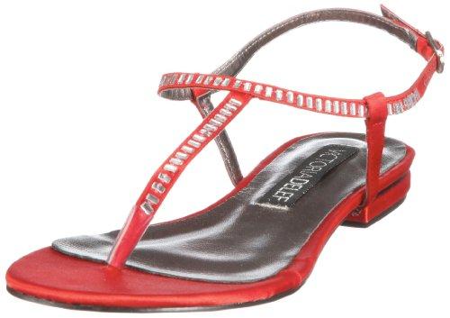 Victoria Delef SANDALS 12V0610 Damen Sandalen/Fashion-Sandalen Rot (ROJO)