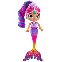 Shimmer and Shine FHN41 Fisher-Price Rainbow Zahramay Mermaid Shimmer, Multi-Colour