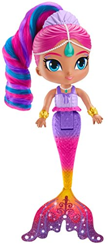 Shimmer and Shine Muñeca Shimmer Sirena mágica, juguete +3...