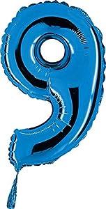 "Grabo 14009B-P Número 9 Midiloon Mini Single Pack, Longitud-14"", Color,Azul, Talla Única"